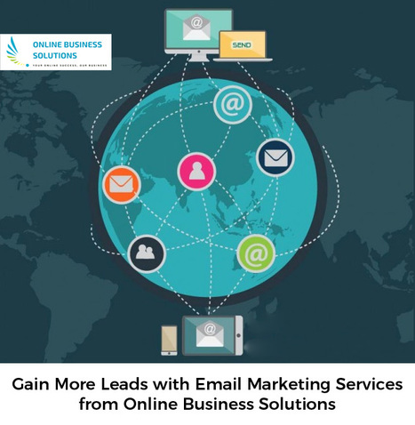 At Online Business Solutions, we provide email marketing services to help you gain more leads and business. We are a team of marketing experts with years of experience in the field and a passion to help clients create unique space over the internet.